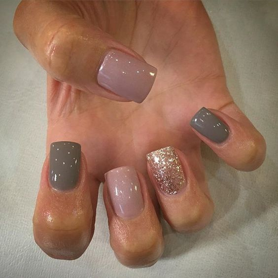 60 Unique And Beautiful Winter Nail Colors Designs | Winter nails, Winter  and Make up - 60 Unique And Beautiful Winter Nail Colors Designs Winter Nails