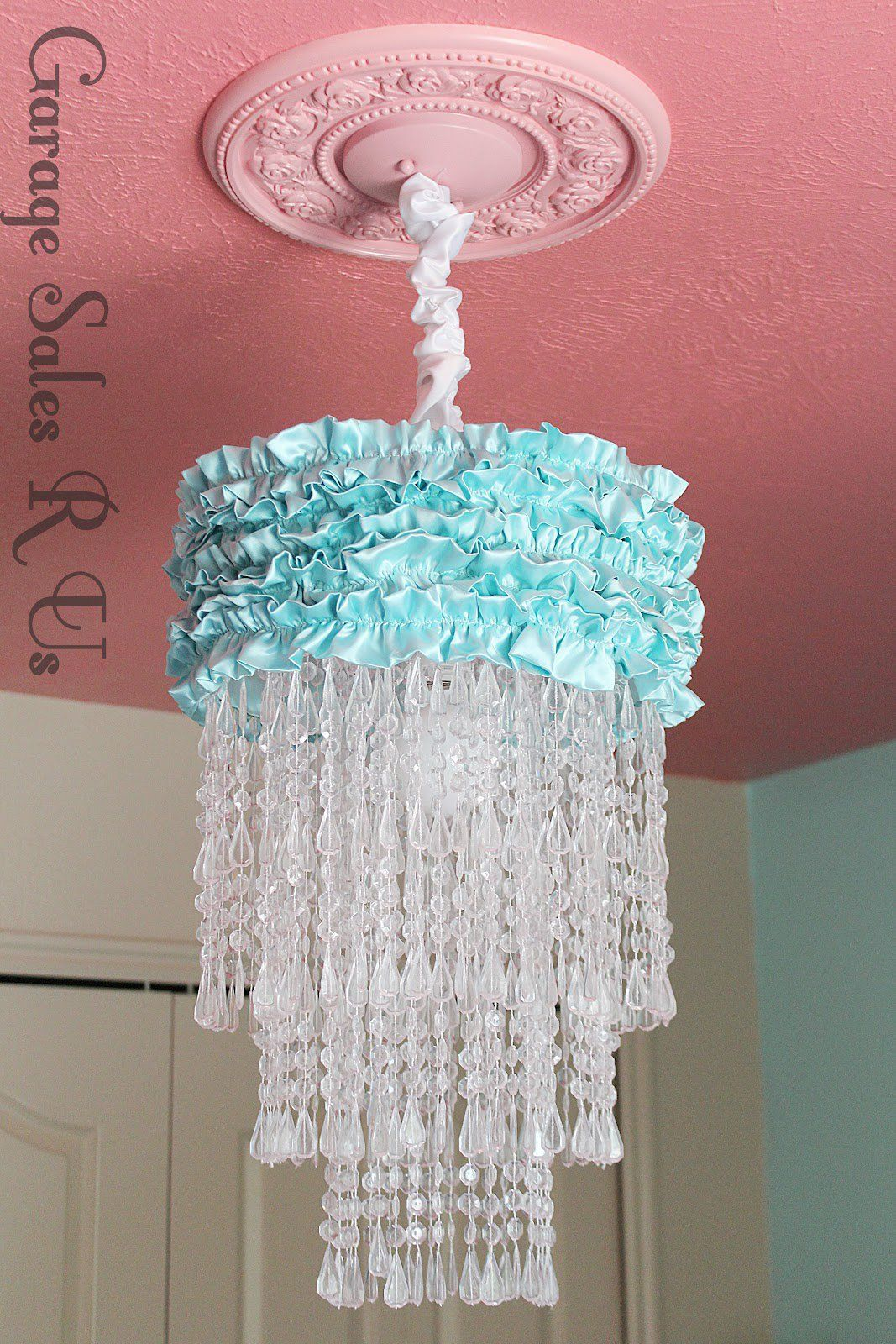 How to make a homemade chandelier from scratch 25 different diy 5 aloadofball Choice Image