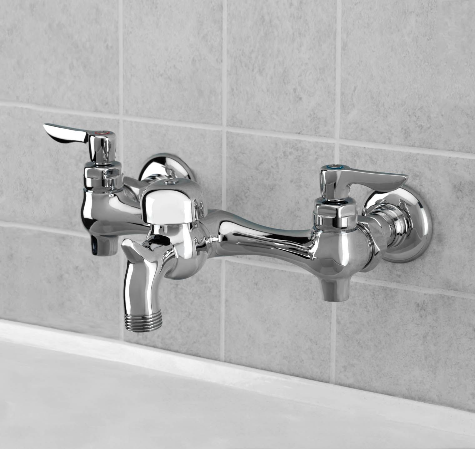 American Standard 8350 243 002 Wall Mount Utility Sink Faucet