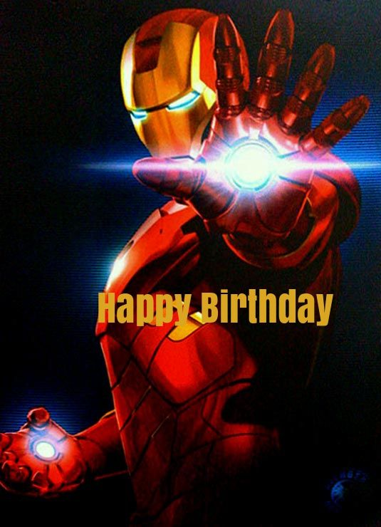 Iron man birthday cards iron man birthday cards pinterest iron iron man birthday cards bookmarktalkfo Images