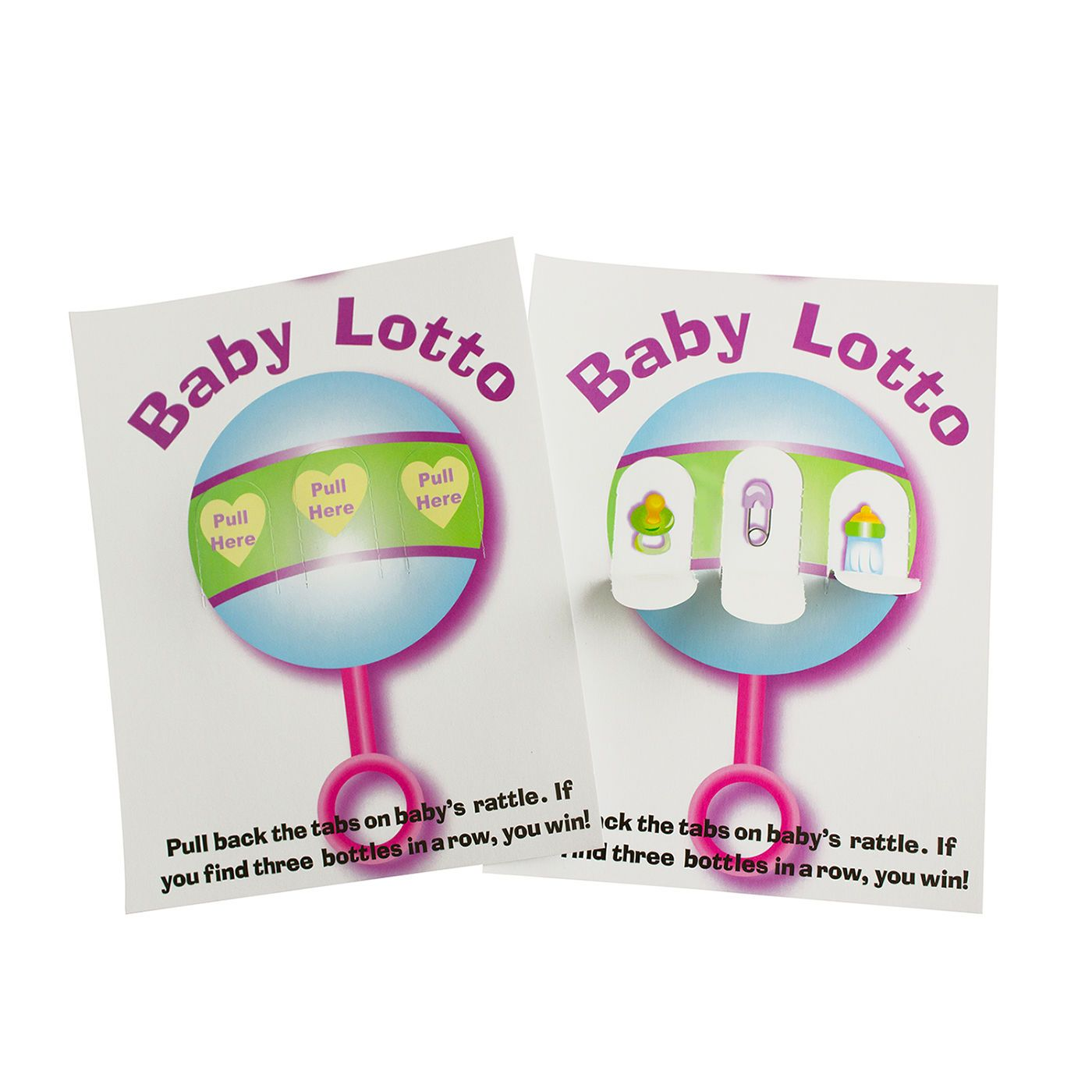 Baby Lotto Pickle Cards Baby Shower Fun Party Games 48