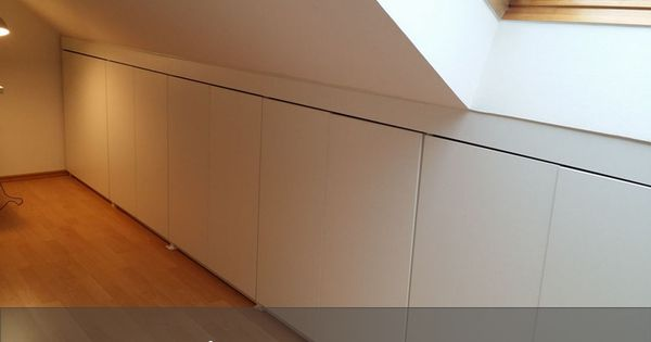 DIY-Einbauschrank Stauraumwunder im Dachgeschoss Amanda - kleiderschrank schiebeturen stauraumwunder