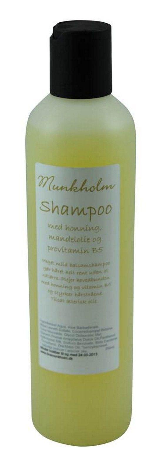 Munkholm shampoo - Tankestrejf.dk