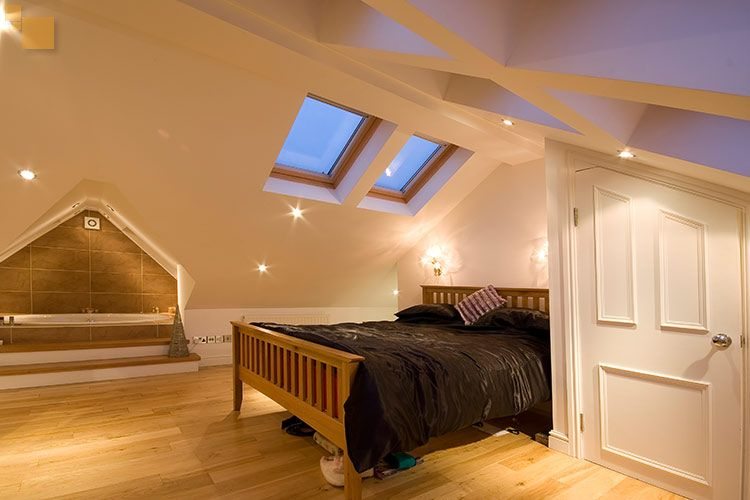 Loft ideas loft shelving ideas on loft conversions design ideas plans manchester loft - Loft conversion bedroom design ideas ...
