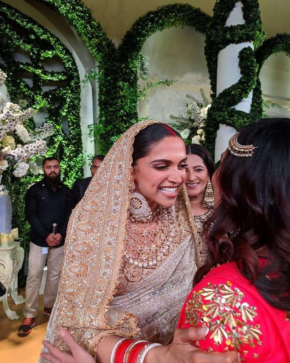 New Deepika Ranveer Wedding Photos You Have To See Today Deepika Padukone Style Deepika Padukone Saree Indian Wedding Outfits