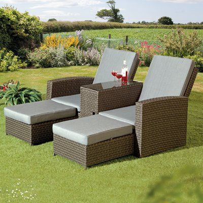 Red Barrel Studio Crader Patio Chair With Cushions Patio Chairs