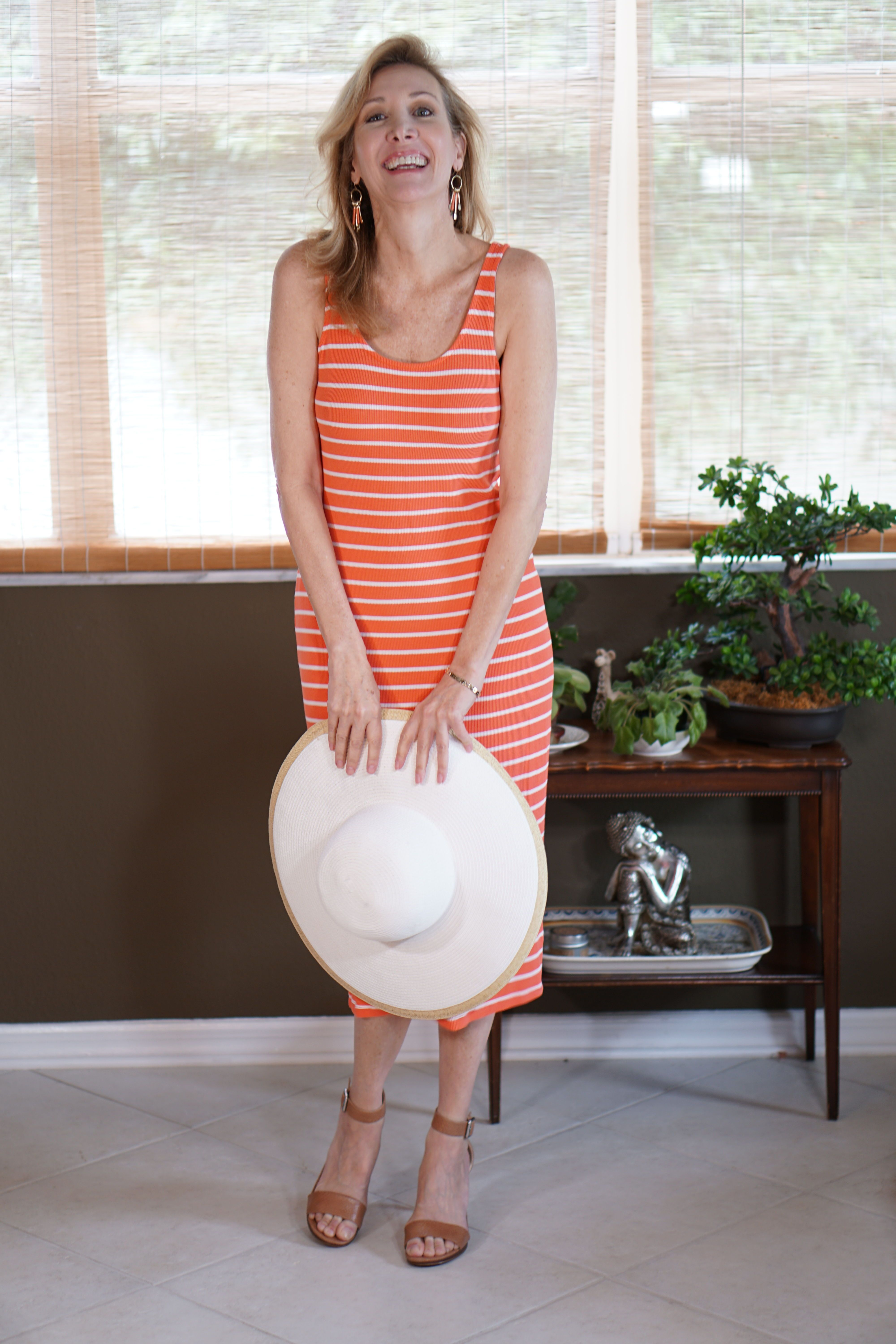 Casual Summer Dress For Women Over 50 This Orange Striped Mini Dress Can Be Dressed Up Or Down W Summer Dresses For Women Summer Dresses Casual Summer Dresses [ 6000 x 4000 Pixel ]