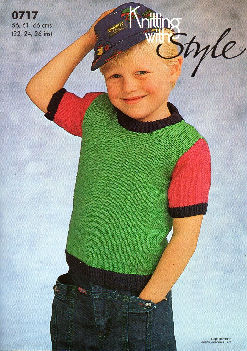Childs childrens short sleeve sweater knitting pattern pdf baby childs short sleeve sweater knitting pattern pdf cotton dk childs top 22 36 bankloansurffo Choice Image