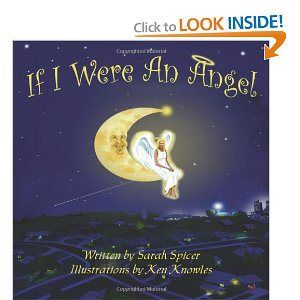 """#IfIWereAnAngel Sara Spicer's """"If I Were An Angel"""" Book Cover. Enter the giveaway here http://tinyurl.com/muuf8n8"""