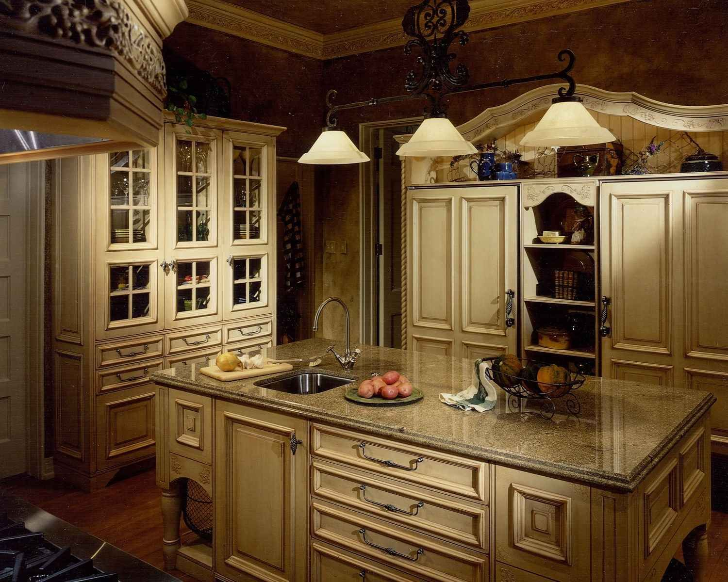 country kitchen lighting fixtures. French Country Kitchen Décor Lighting Fixtures