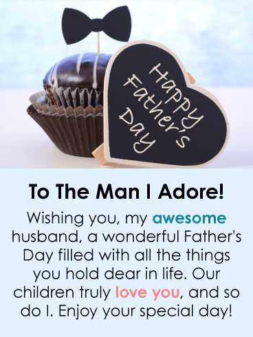 I adore you happy fathers day card from wife if your husband happy fathers day card from wife birthday greeting cards by davia m4hsunfo