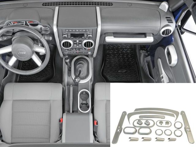 Interior Trim Kit And Dash Add Ons Jeep Wrangler Jk Jeep Wrangler Jeep Wrangler Jk Jeep