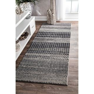 Best Nuloom Contemporary Abstract Pattern Area Rug Gray 400 x 300