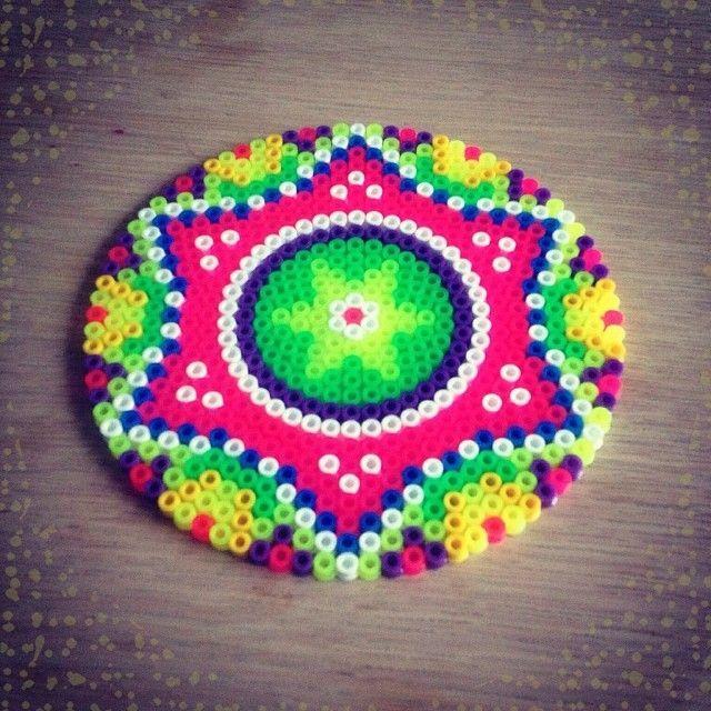 mandalas con hama beads - Buscar con Google
