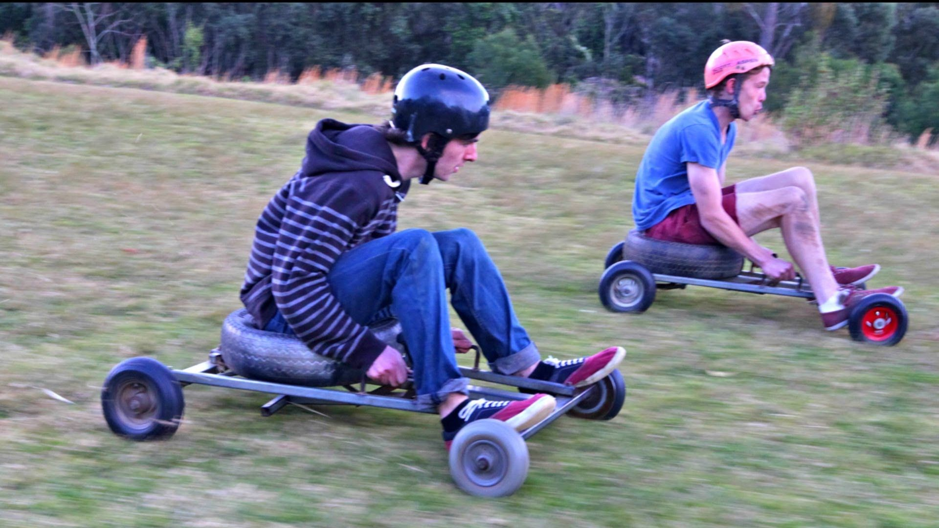 Grass Kart Racing - Crazy Speeds I WANNA DO THIS!! WHO\'S WITH ME ...