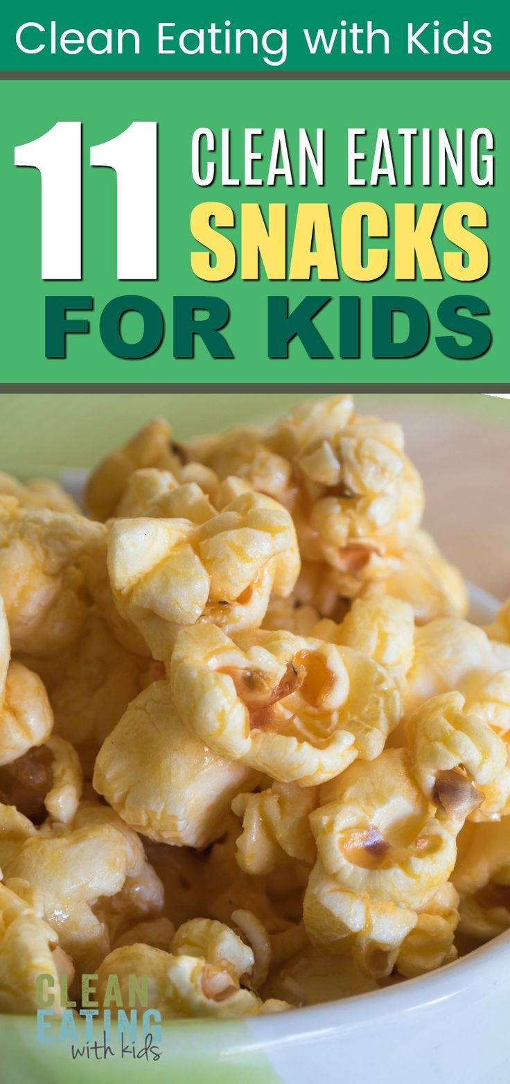 11 Clean Eating Snacks for Kids images