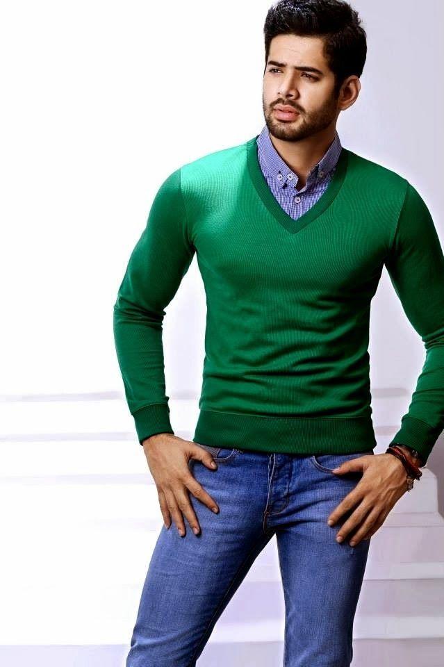 7526733a2b8 Look de moda  Jersey de Pico Verde
