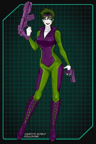 Random Joker design by Khoshekh ~ Marvel X-Men Dress Up ... X Men Girls Dress Up
