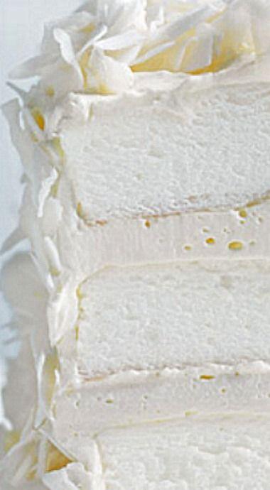 Coconut Layer Meringue Cake ❊