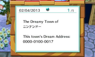 Nintendo Town S Dream Code You Should Go Check It Out It Pretty