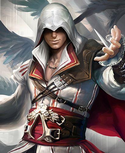 Assassin's Creed Ezio Poster//// 2hhhhh! don't judge me ...