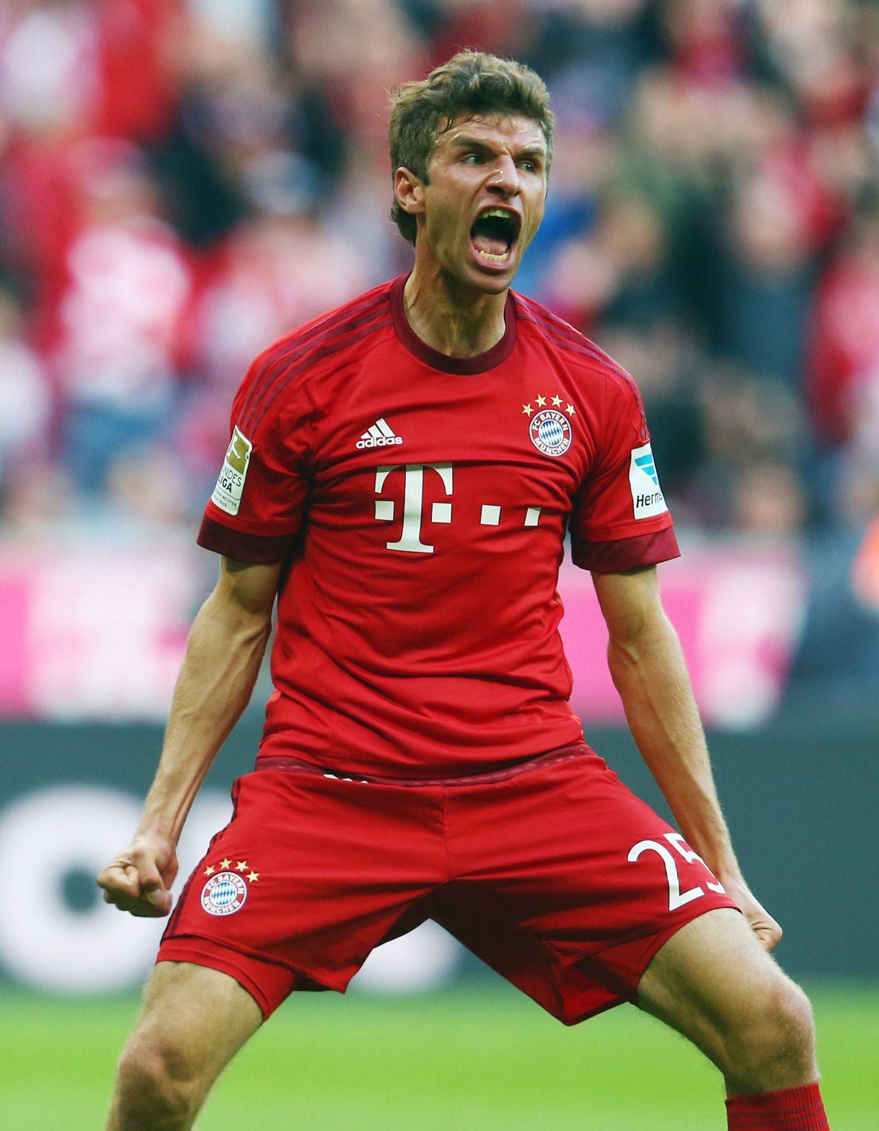 Thomas Muller FC Bayern Munchen Sports Pinterest
