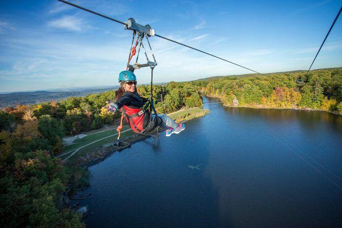The Epic Zipline In New Jersey That Will Take You On An Adventure Of A Lifetime Ziplining Day Trips Zipline Adventure
