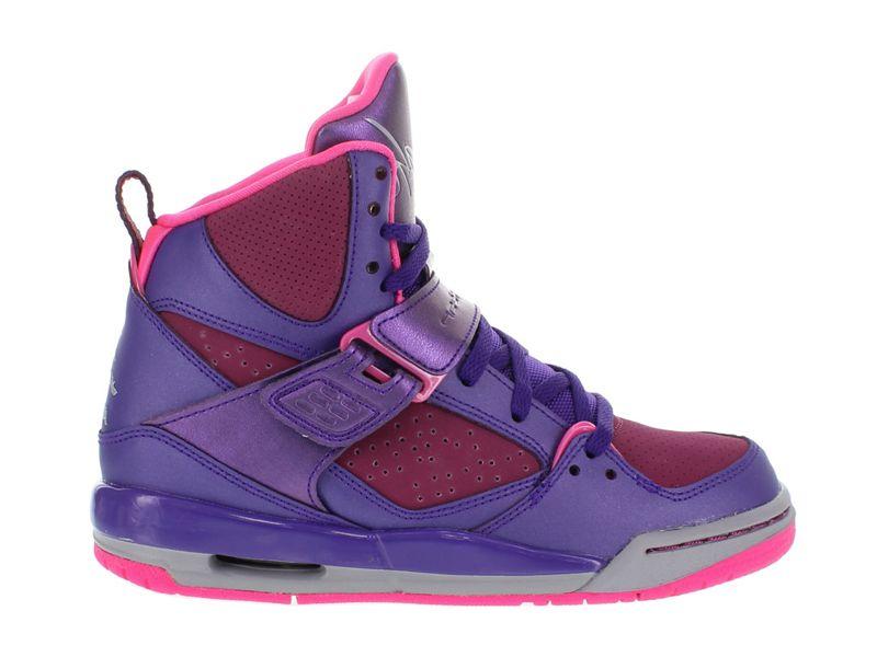 acheter populaire 13fef b0448 Jordan Flight 45 High GS Chaussures pour Femme 524864-509 ...