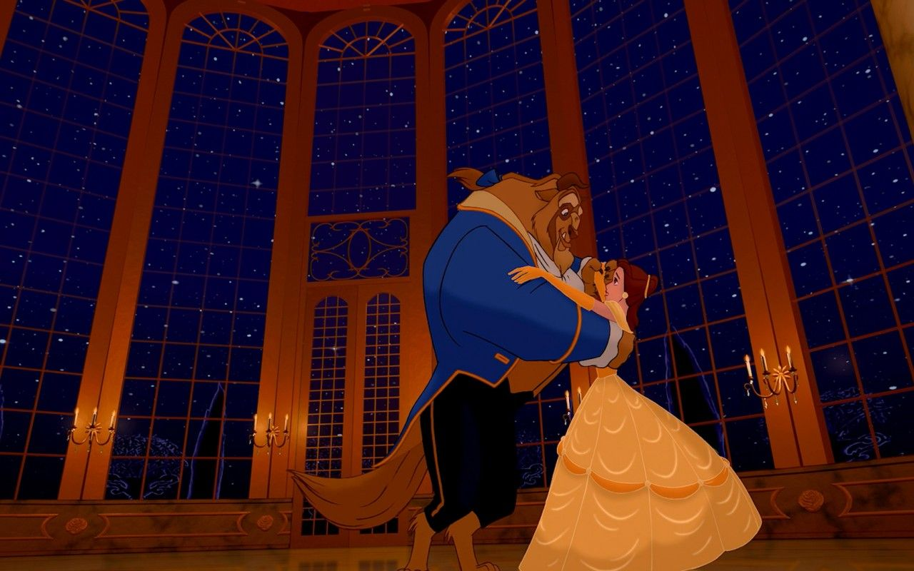 Beauty And The Beast My Favorite Of All Disney Movies This Scene