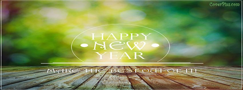 Happy New Year 2018 Greetings Card For Facebook Timeline Cover Photo