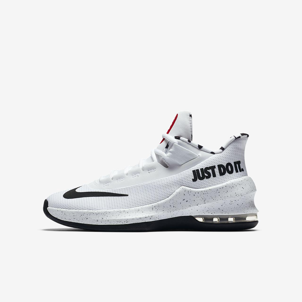 384636bb792 Nike Air Max Infuriate II Just Do It Little Big Kids  Basketball Shoe - 4.5Y