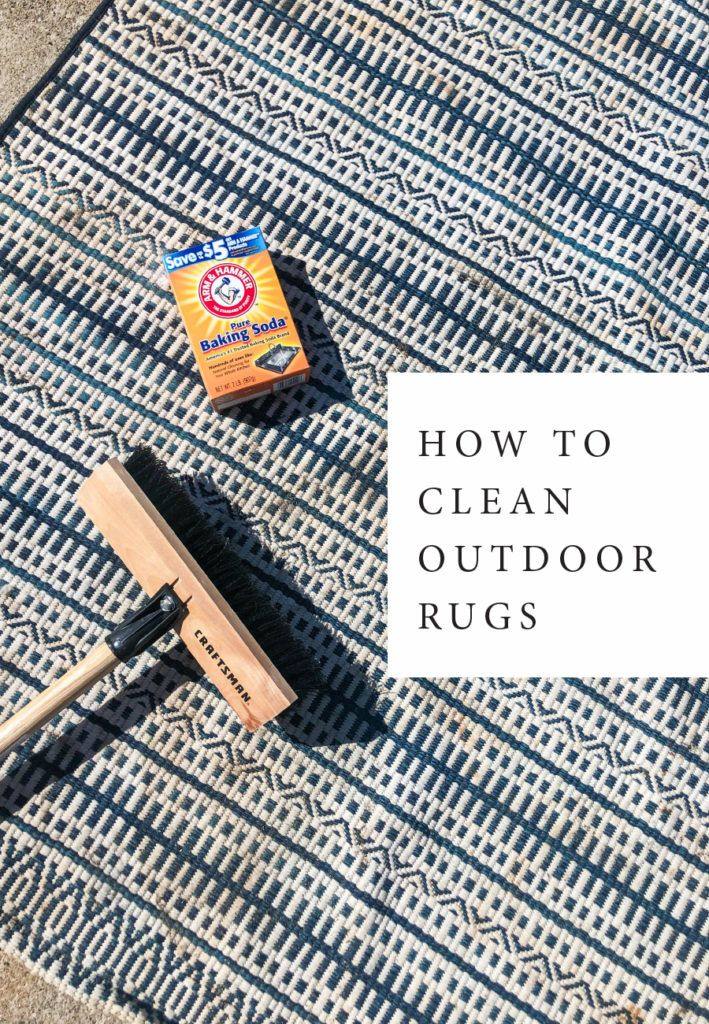Tips for outdoor patio care + How to clean outdoor rugs. #outdoorrugs