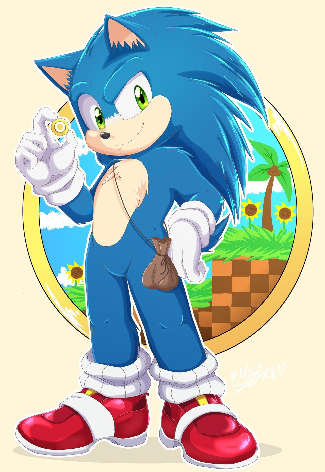 Sonic Movie By Mimikuronekito On Deviantart Sonic Hedgehog Movie Sonic Fan Art