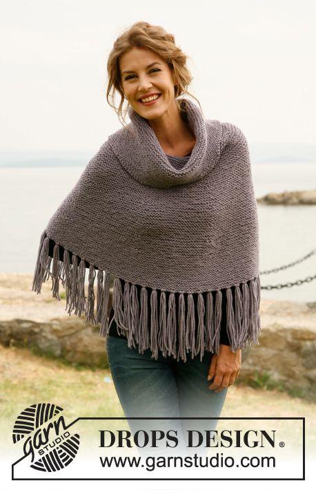 Free Pattern | Ponchos capas suéteres | Pinterest | Ponchos, Lindo y ...