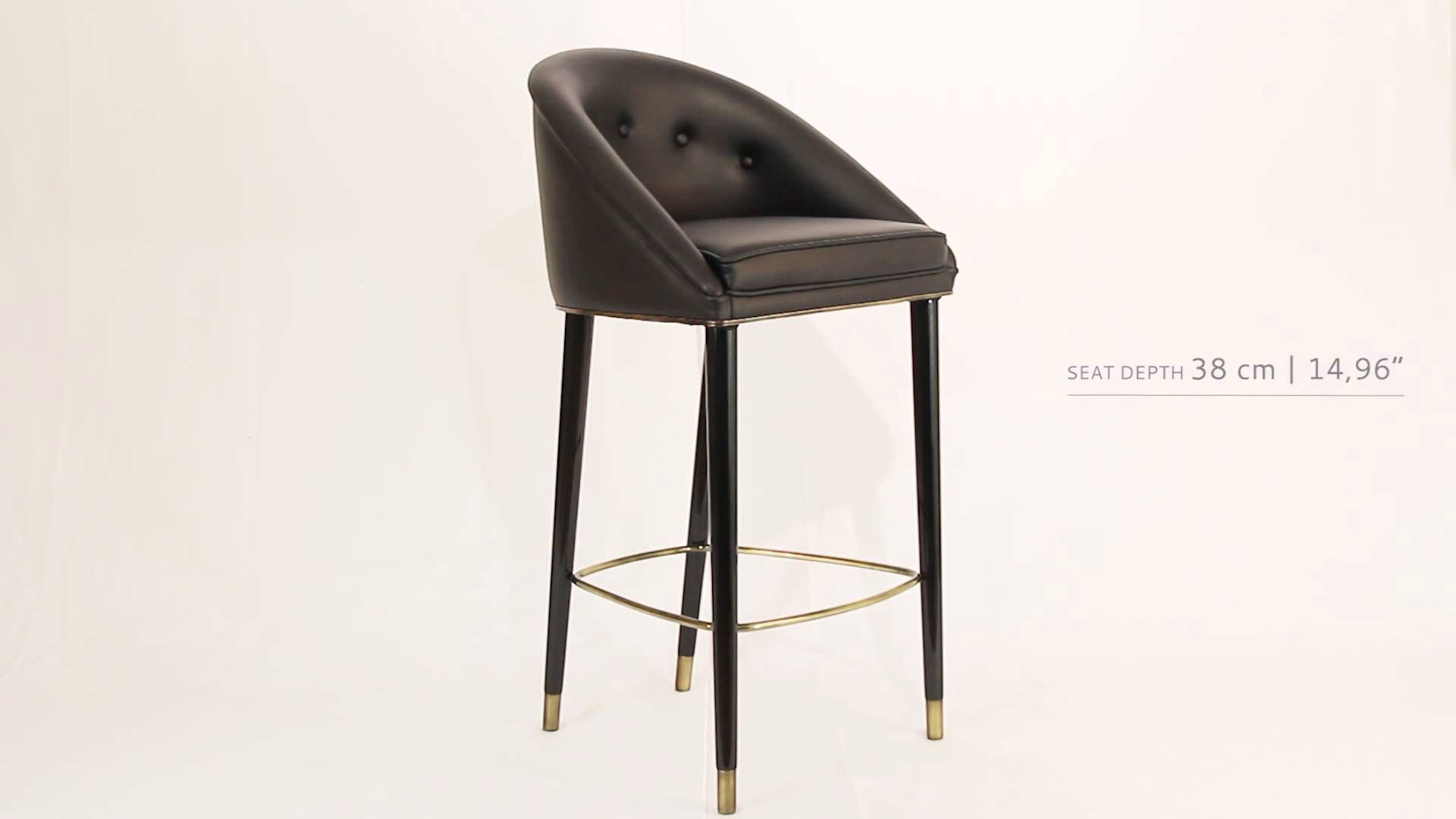 stool chair in malay steelcase bar by brabbu videos pinterest