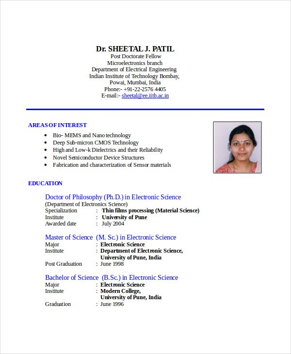Resume Format Used In India Sample resume, Resume format and