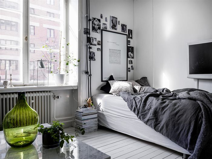 Kleine Minimalistische Slaapkamer : Dit is hoe je een kleine ruimte minimalistisch maar gezellig inricht