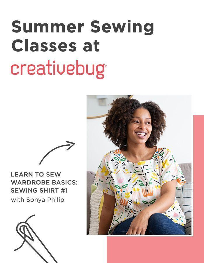 Независимо от того, каким советам по шитью вы хотите научиться, вы можете изучить их с CreativeBu …