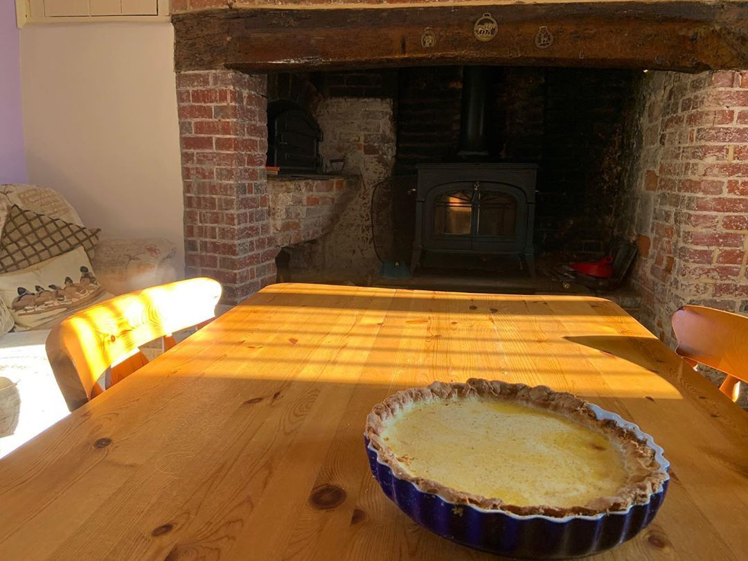 Birthday surprise for mum. She loves a egg custard tart but have I baked a good one
