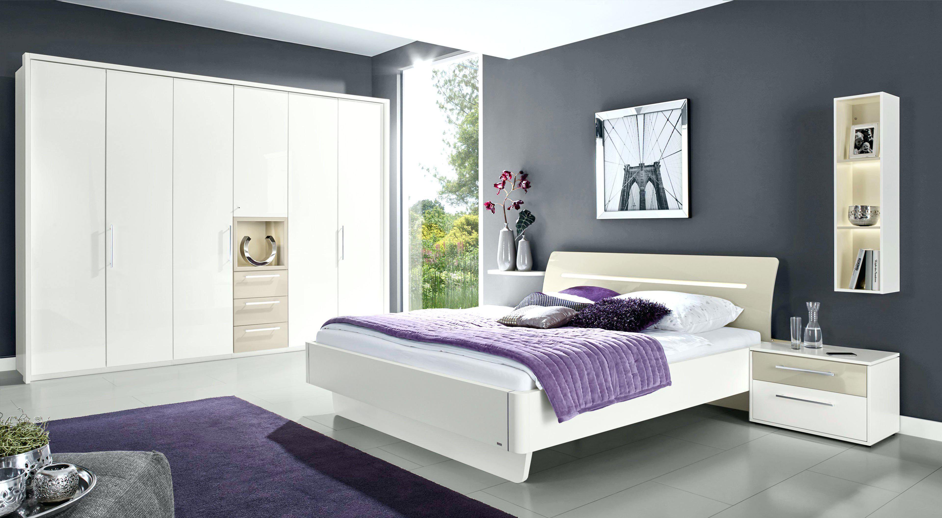 Schlafzimmer Set Hochglanz Weiss Hund Schlafzimmerblick