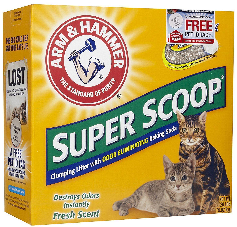 Arm and Hammer Super Scoop Litter, Fresh Scent *** Find