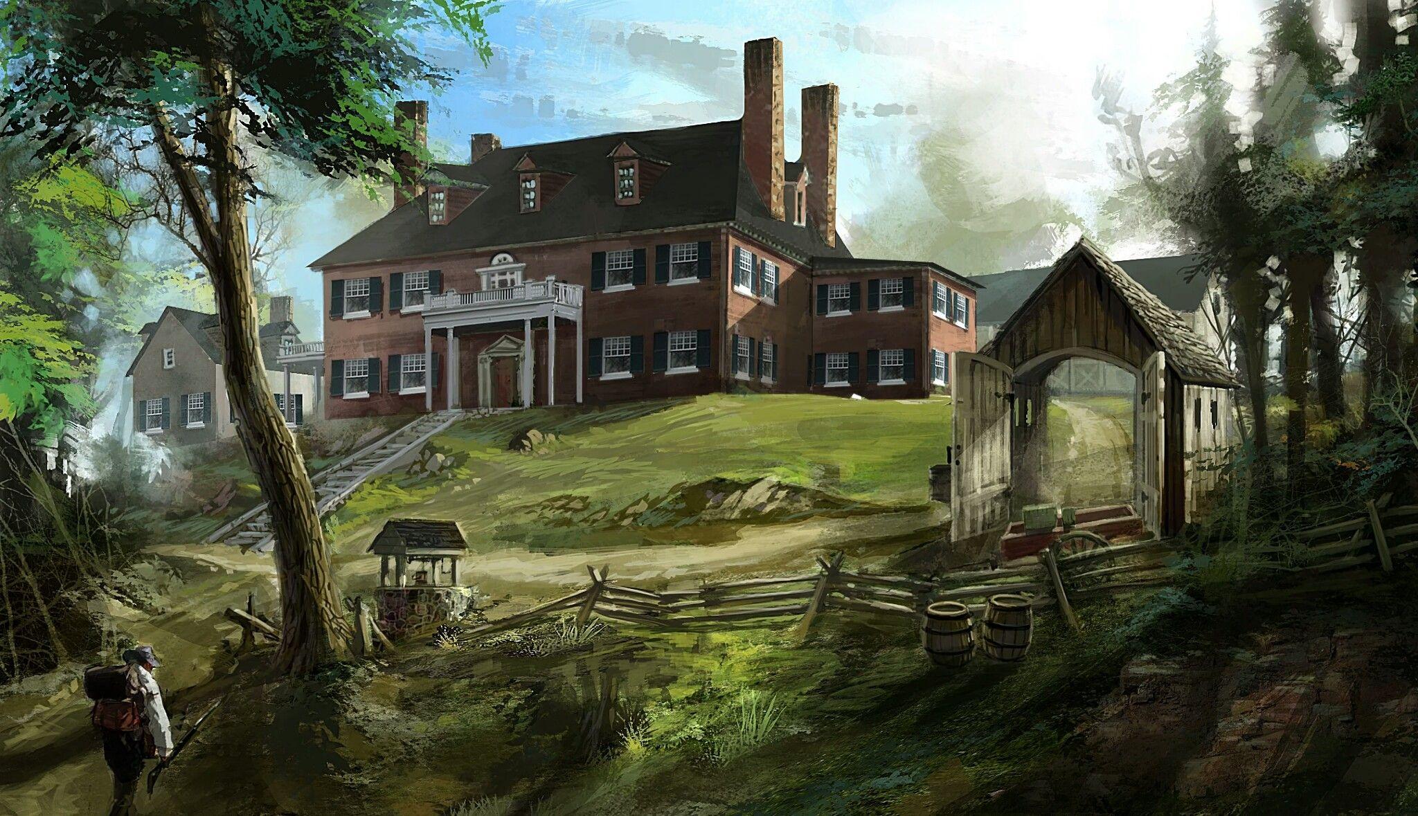 Davenport Homestead Assassins Creed Assassins Creed 3