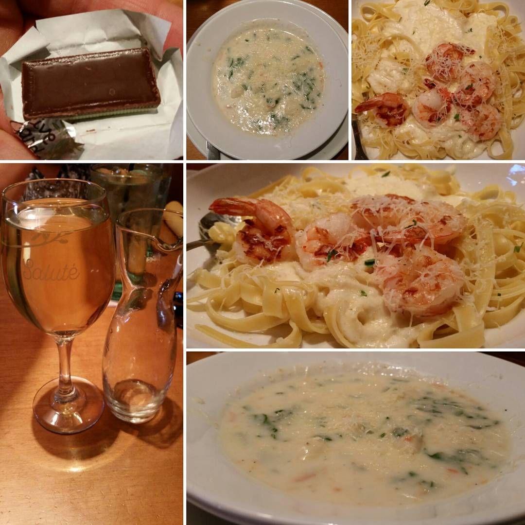Dinner 🍴 Olive Garden! Soup: Chicken & Gnocchi 🍲 Entrée ...