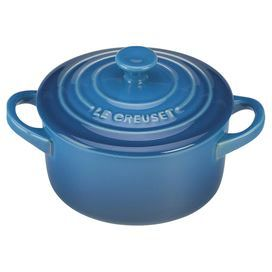 "Stoneware casserole dish in Marseille with a non-stick glazed interior. Dishwasher Safe.   Product: Casserole dishConstruction Material: StonewareColor: MarseilleFeatures:  Durable, non-porous enamel resists chipping, scratching and staining8 Ounce capacityNon-stick glazed interiorSure grip handles Dimensions: 2"" H x 5.25"" W x 4"" DCleaning and Care: Oven, dishwasher, refrigerator, freezer and microwave safe"