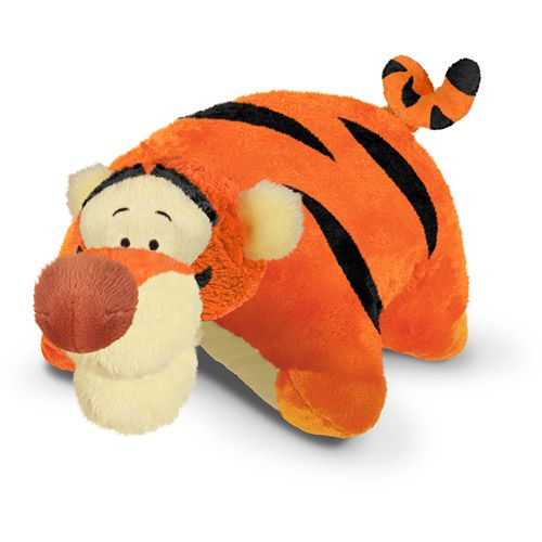 Tigger Pillow Pet from Walmart- Big Sister would LOVE this (ok, mommy would too!)