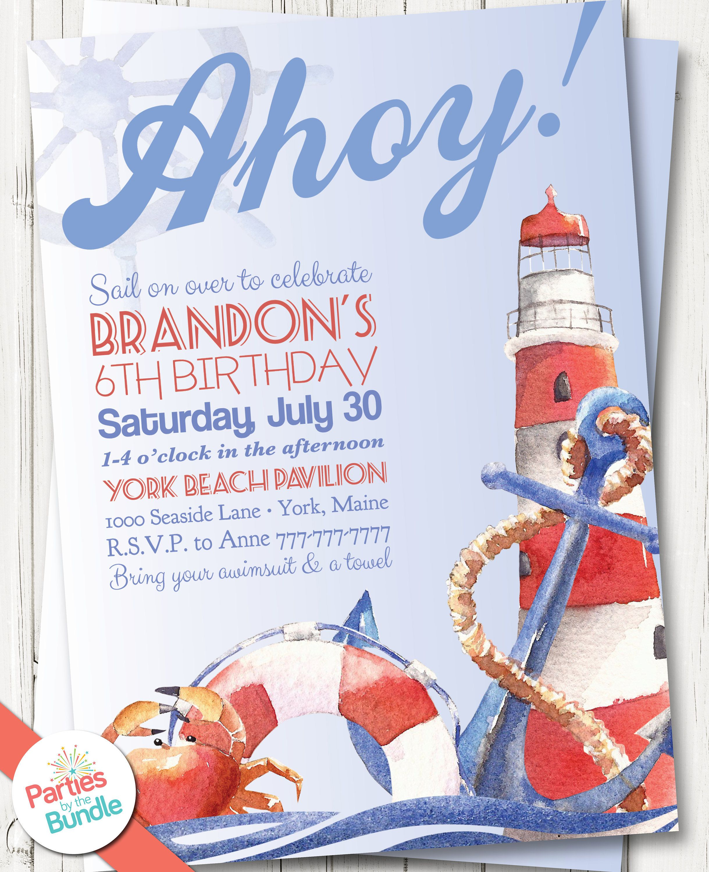 Free Shipping Dots and Stripes Oh Boy Invitation Baby Shower Custom First Birthday Digital or Printed