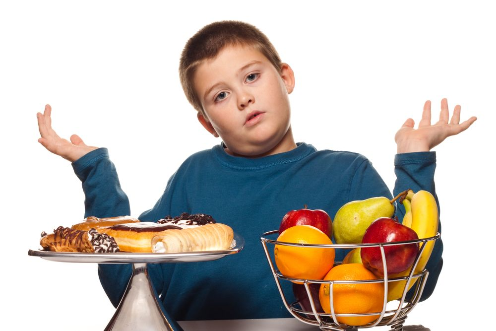 Factors that lead to obese children include not making healthy diet choices along with not participating in daily physical activity.