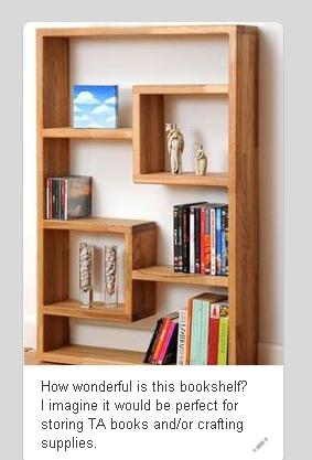 Estante Irregular - Para livros ou objetos