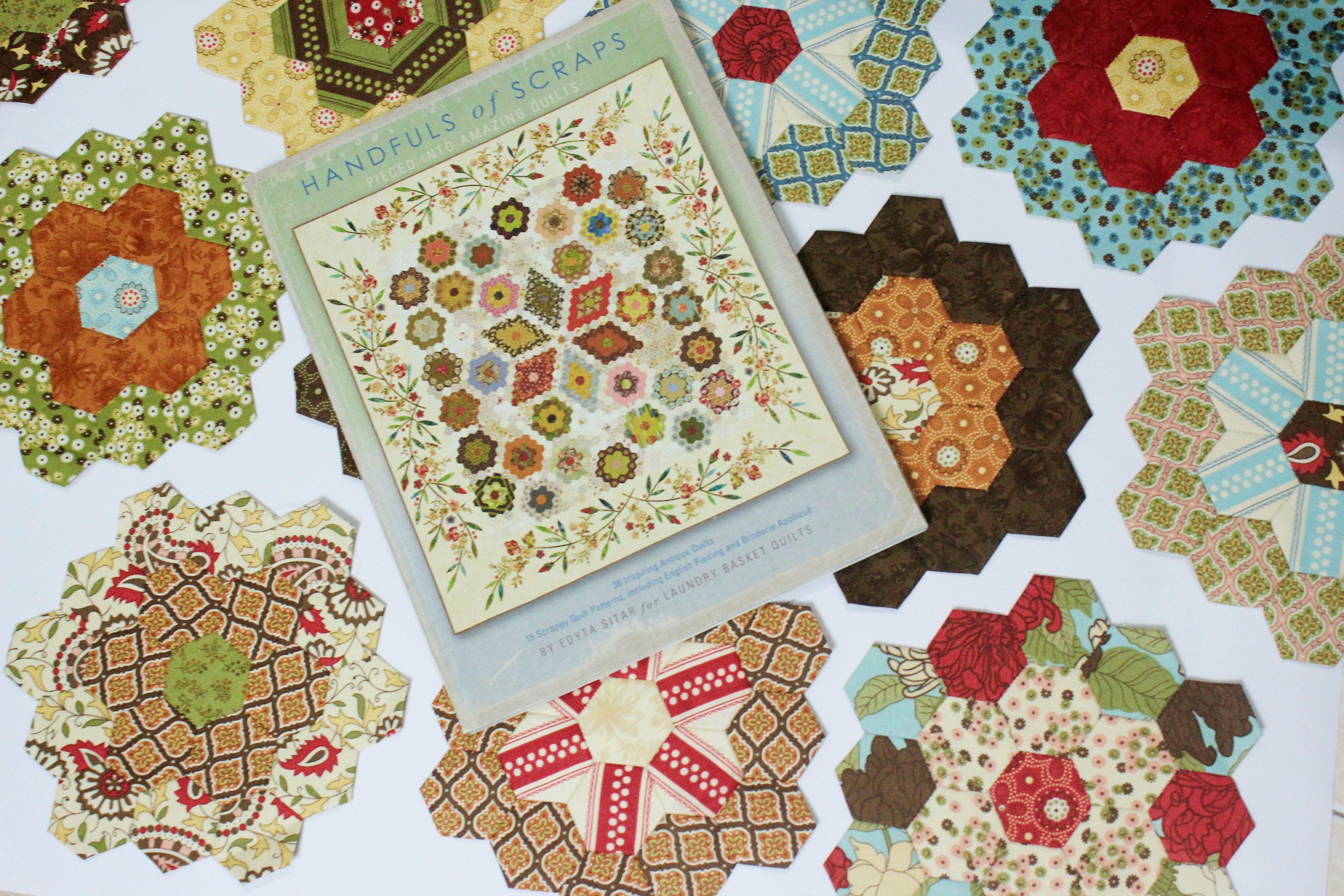 English Paper Piecing Hexagon Flower Garden Free English Paper