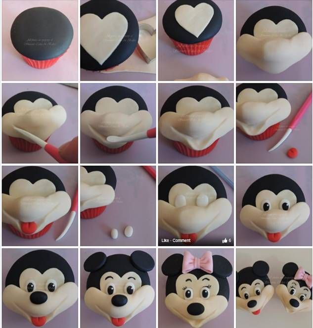 Minnie Mouse Fondant Tutorial Google Търсене